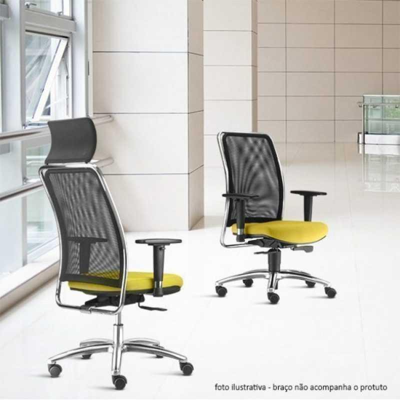Cadeira de Escritório Preço Brooklin Novo - Cadeira de Escritório Presidente