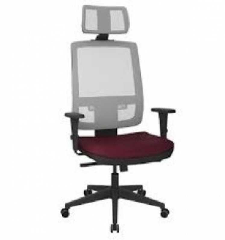Cadeira de Escritório Presidente Brooklin - Cadeira de Escritório Presidente