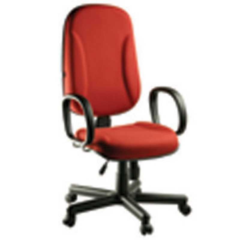 Cadeira Operacional Alta Alphaville Conde I - Cadeira para Escritório Alta Operacional