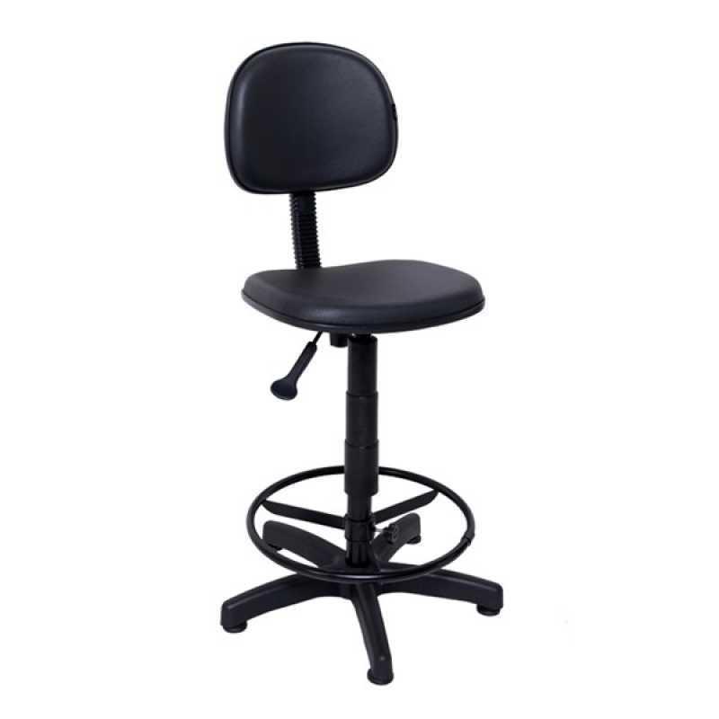 Cadeira Operacional Giratória Alta Alphaville Conde II - Cadeira Operacional para Escritório