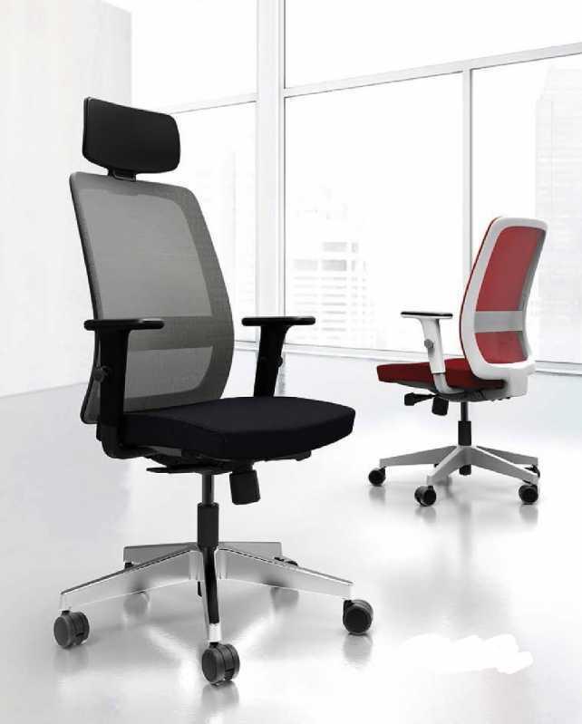 Cadeira para Escritório Presidente Valor Peruche - Mobiliário de Escritório