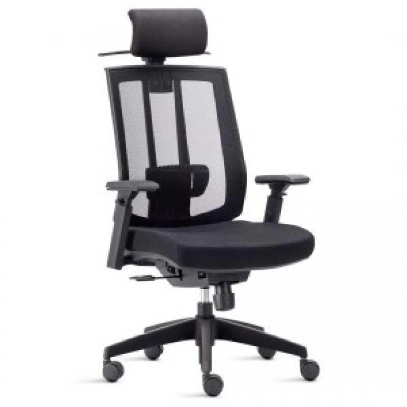 Cadeira Presidente Preço São Domingos - Cadeira Operacional Giratória Alta