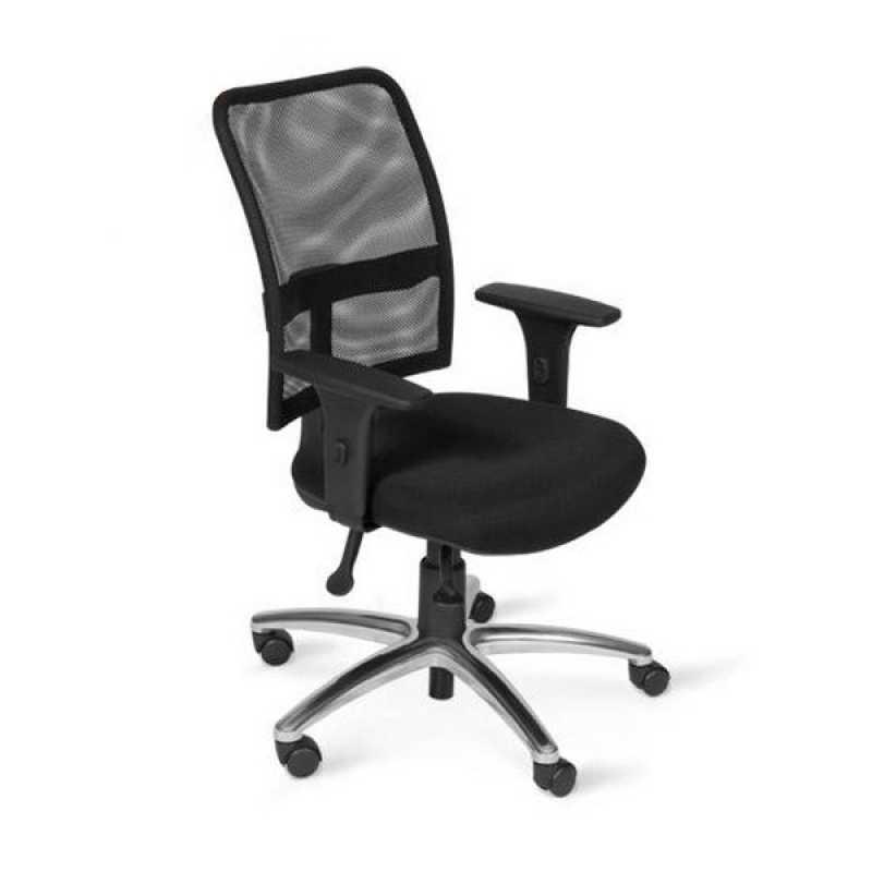 Cadeiras Ergonômicas com Braço Vila Madalena - Cadeira Operacional para Escritório