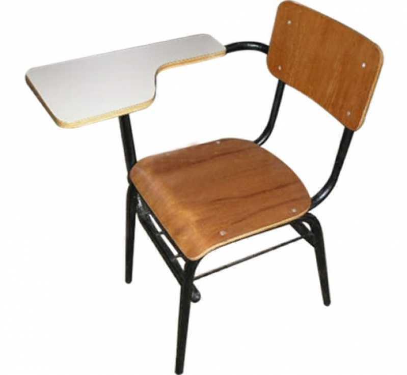 Cadeiras Universitárias Anatômicas JARDIM LUZITANTIA - Cadeira Universitária Acolchoada
