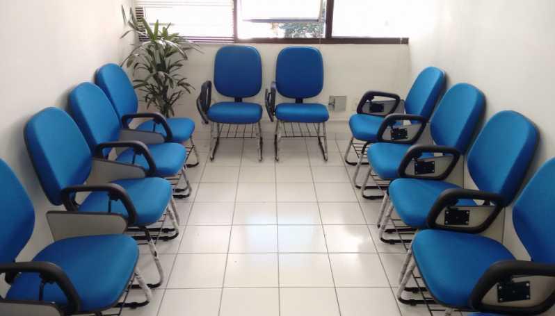 Cadeiras Universitárias Braço Dobrável Avenida Engenheiro Caetano Alvares - Cadeira Universitária Estofada