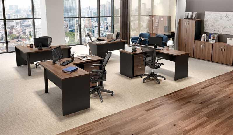 Mesa de Escritório Valor Vila Carbone - Mobiliário de Escritório