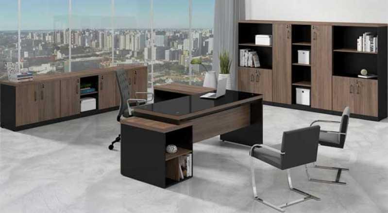 Mesa de Escritório Vila Leopoldina - Mobiliário de Escritório