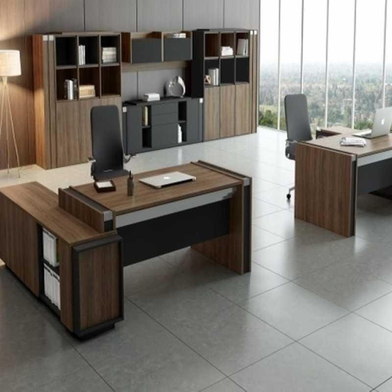 Mobiliário de Escritório Vila Olímpia - Cadeira de Escritório Presidente