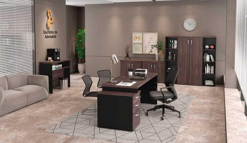 Mobiliário Planejado para Ambientes Corporativos Boa Vista - Cadeira de Escritório Presidente