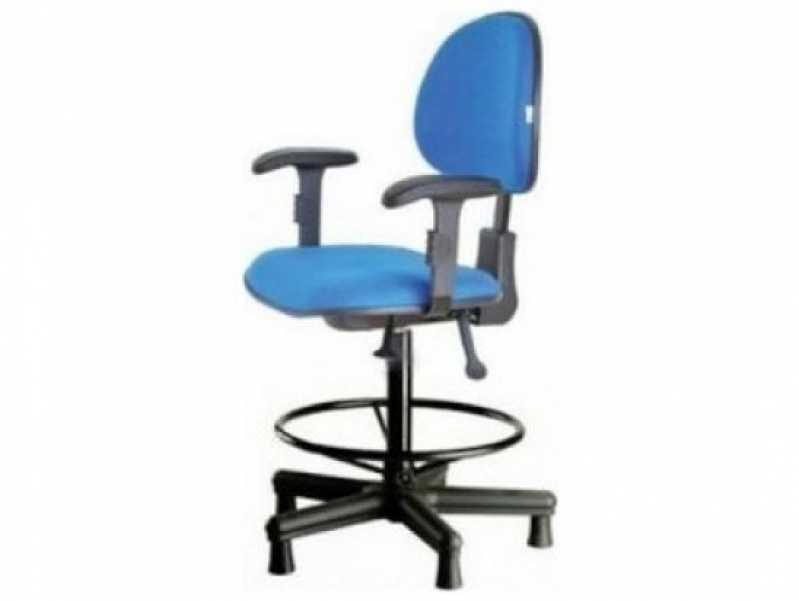 Onde Comprar Cadeira Operacional Giratória Alta Paulista - Cadeira para Escritório Operacional