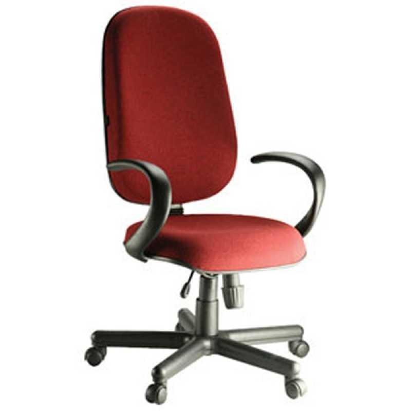 Onde Encontro Cadeira Operacional Alta Cidade Monções - Cadeira Operacional para Escritório