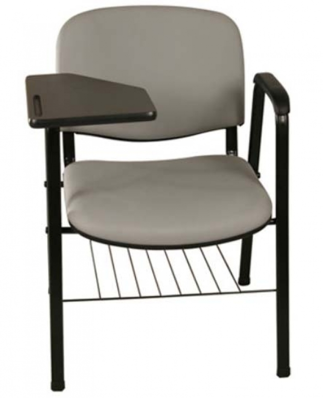 Onde Encontro Cadeira Universitária Braço Dobrável Vila Olímpia - Cadeira Universitária com Prancheta Frontal