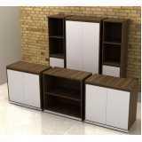 armário para escritório de parede Residencial Nove
