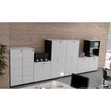 armários para escritório com chave Residencial Sete