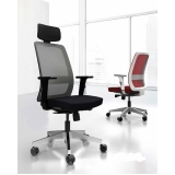 cadeira de escritório presidente preço Tamboré