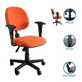 cadeira ergonômica com braço limão