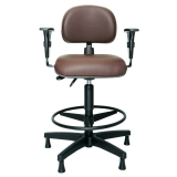 cadeira operacional giratória alta preço Alphaville Residencial Plus