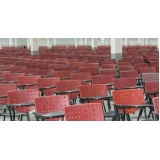 cadeira universitária com prancheta frontal preço Pinheiros