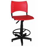 cadeiras operacionais giratórias altas Residencial Onze