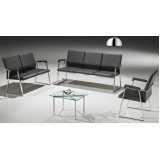 cadeiras para sala de espera preço Santo Amaro