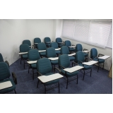 cadeira universitária estofada