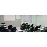 cadeiras universitárias com prancheta Residencial Onze