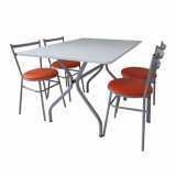 comprar mesa refeitorio 4 lugares Vila Mariana