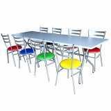 comprar mesa refeitorio 8 lugares Parque Novo Mundo