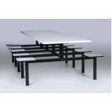 comprar mesa refeitorio escolar Parque São Lucas