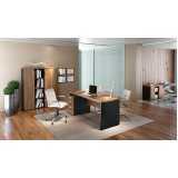 mesa para escritório com 2 gavetas preço Brooklin Novo