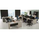 mesa para escritório de canto preço Jaguaré