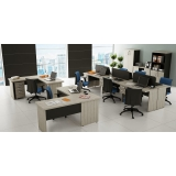 mesa para escritório de canto preço Paraíso