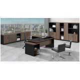 mesa para escritório e cadeira preço Vila Madalena