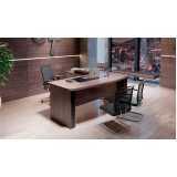 mesa para escritório e cadeira Brooklin