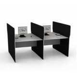 mesa para escritório plataforma 2 lugares preços Jardim Paulistano