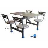 mesa para refeitório articulada avenida inajar de souza