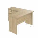 mesas para escritório de canto pequenas Vila Carrão