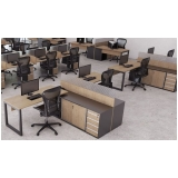mesas para escritório de canto Brooklin