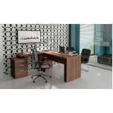 mesas para escritório de madeira Cidade Jardim