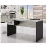 mesa para escritório de canto pequena
