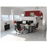 mesas plataforma escritório casa verde