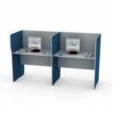 mesa para escritório plataforma 2 lugares
