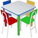 móveis para refeitório escolar infantil preço Jardins