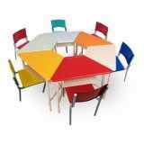 móveis para refeitório escolar infantil Alphaville Conde II