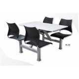 mesa para refeitório articulada