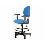 onde comprar cadeira operacional giratória alta Pinheiros