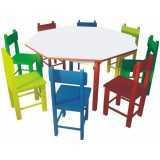onde comprar móveis para refeitório escolar infantil Butantã