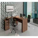 onde encontro mesa para escritório com armário Paulista