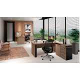 onde encontro mesa para escritório de madeira Alphaville Conde I
