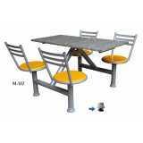 onde encontro mesa para refeitório articulada Cerqueira César